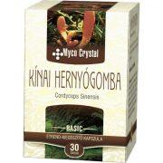 Myco crystal kínai hernyógomba kapszula 30db