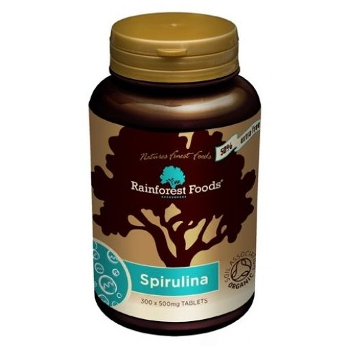 Rainforest Foods Bio Spirulina kapszula 300db