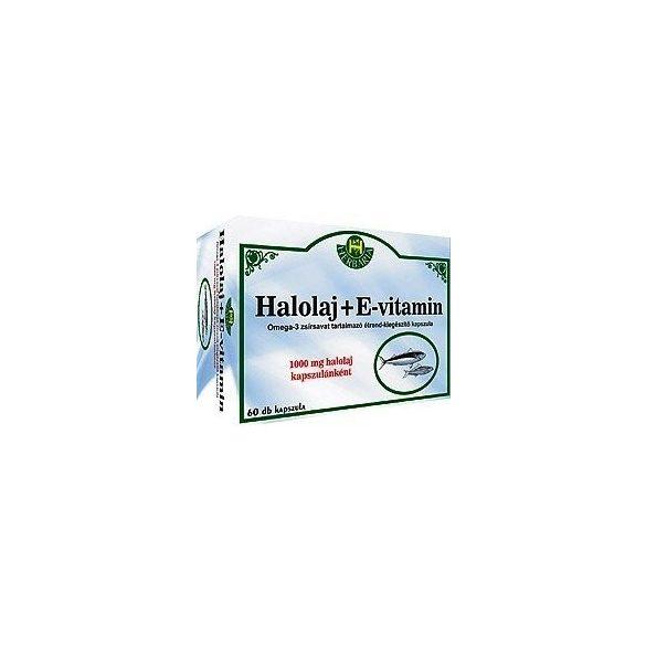 Herbária halolaj + omega3 lágyzselatin kapszula 60db