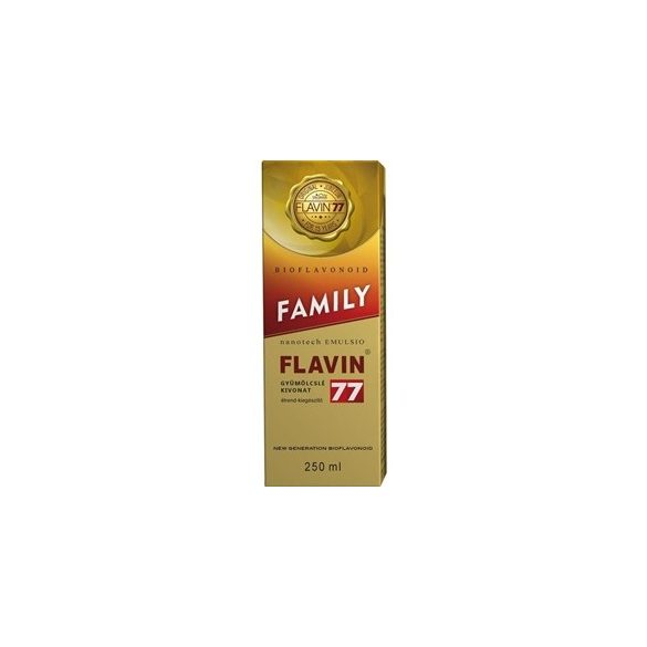 Flavin 77 family szirup 250ml