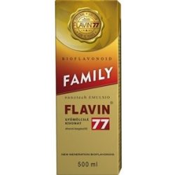 Flavin 77 family szirup 500ml