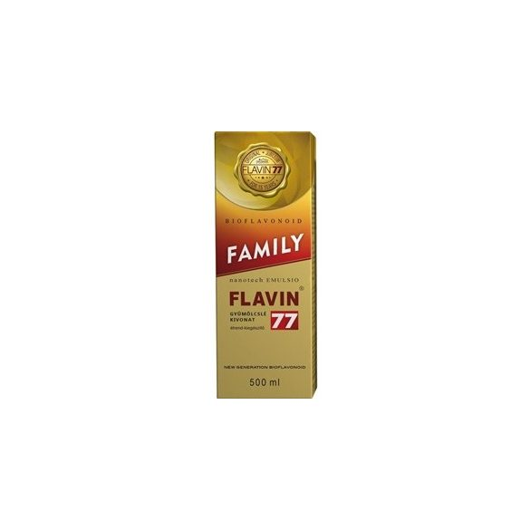 Flavin 77 family szirup 500ml