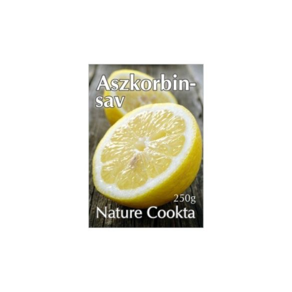 Nature Cookta Aszkorbinsav (C-vitamin) 250g
