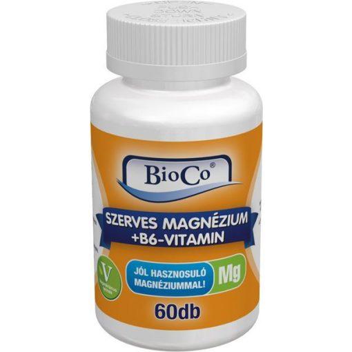 Bioco Szerves Magnézium + B6-vitamin 60db