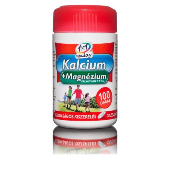 1x1 Vitaday filmtabletta calcium + magnézium 100db