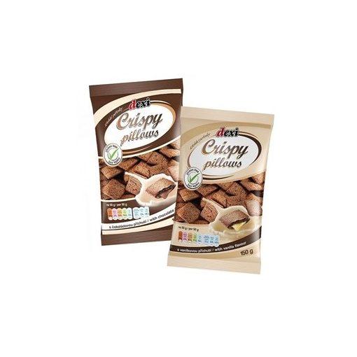 Gluténmentes dexi csokoládéval töltött párnák 150g