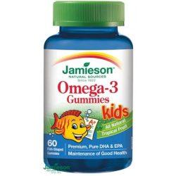 Jamieson omega-3 kids gummies gumicukor gyerekeknek 60db