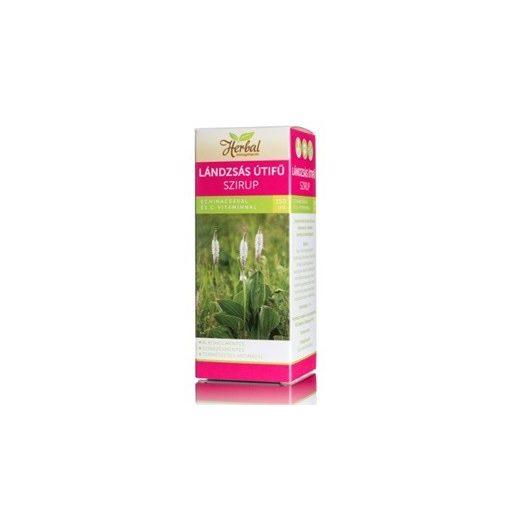 Innopharm herbal lándzsás útifű szirup echinacea+c-vitamin 150ml