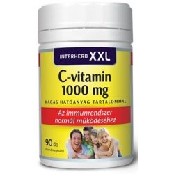 Interherb xxl c-vitamin 1000mg tabletta 90db