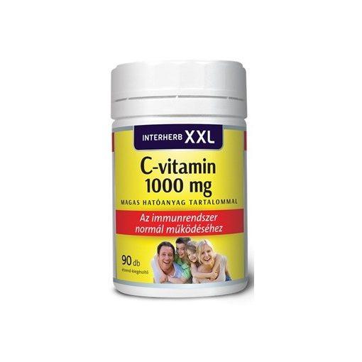 Interherb xxl c-vitamin 1000mg tabletta 90db