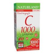 Naturland C-vitamin tabletta 1000mg  40db