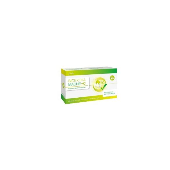 Bioextra Magne + C-vitamin kapszula 30 db
