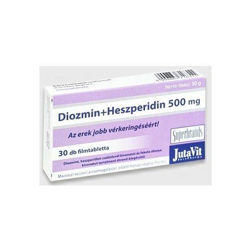 Jutavit diozmin+heszperidin 500mg tabletta 30db