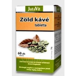 Jutavit zöld kávé + króm tabletta 60db