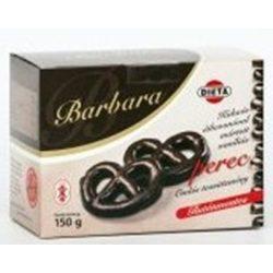 Gluténmentes barbara kakaós étbevonóba mártott vaniliás perec 150g
