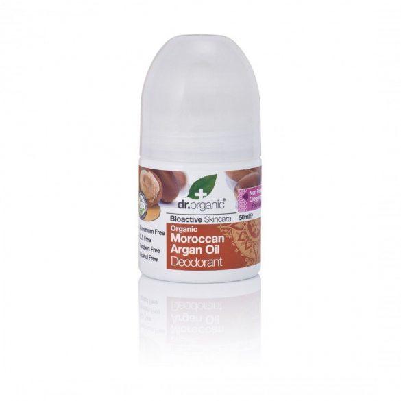 Dr.organic golyós dezodor argánolajjal aluminiummentes 50ml