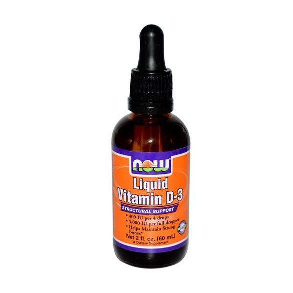Now folyékony d-3 vitamin 1000iu 30ml