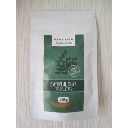 Organiqa Bio Spirulina tabletta 125g