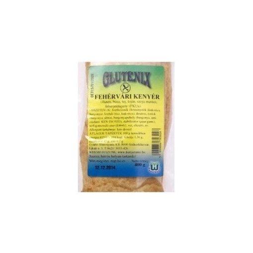 Gluténmentes glutenix fehérvári kenyér 400g