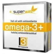 Superwell omega3 166g kapszula 100db