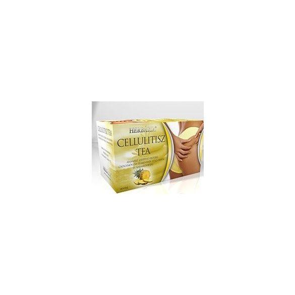 Herbária cellulitisz tea filteres 40g
