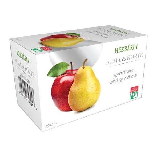 Herbária gyümölcstea alma-körte filteres 40g