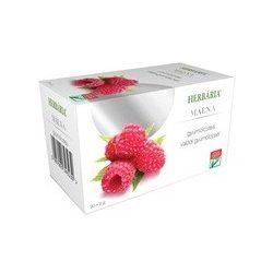 Herbária gyümölcstea málna filteres 40g