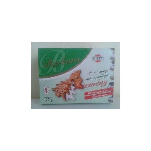 Gluténmentes barbara karácsonyi mézes jellegű sütemény 1db