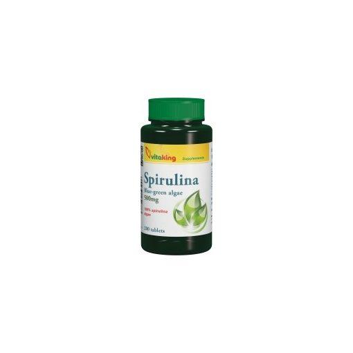 Vitaking Spirulina alga tabletta 200db