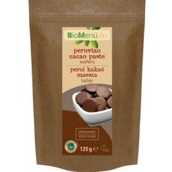 Bio biomenü kakaómassza tallér perui 125g
