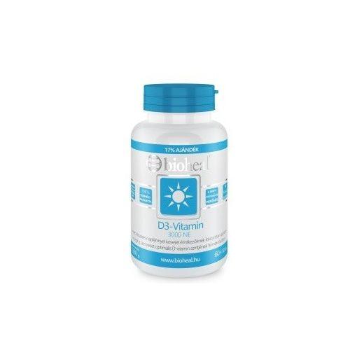 Bioheal D3-vitamin 3000 NE 70db