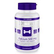 Bioheal kalcium 500 mg + D3-vitamin +K2-vitamin 70db