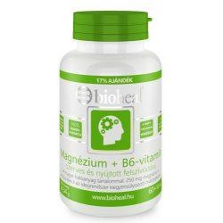 Bioheal magnézium + B6-vitamin tabletta 70db