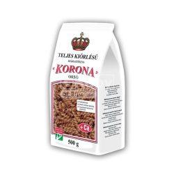 Korona teljes kiőrlésű tészta fodros kocka, calciummal 500g
