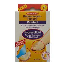 Chemoplast Hydrokolloidos Tyúkszemtapasz Szemes 6 db