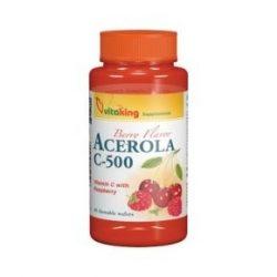 Vitaking Acerola C-500 rágótabletta 40 db
