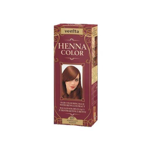 Henna Color hajfesték 117 mahagóni 75ml