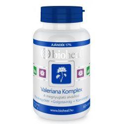Bioheal valeriana komplex tabletta 70db