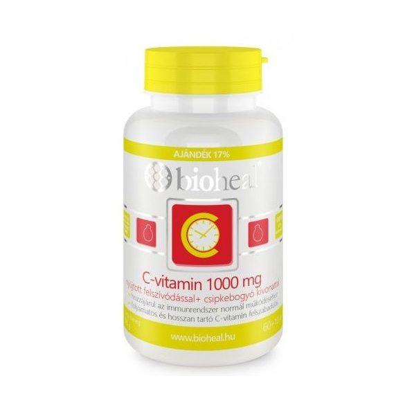 Bioheal csipkebogyós c-vitamin 1000 mg nyújtott felszívódással 70db