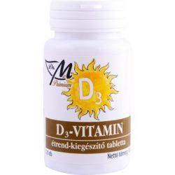 Dr.M prémium d3 -vitamin tabletta 120db