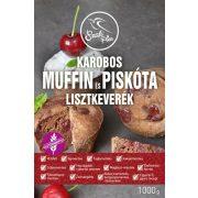 Szafi free gluténmentes karobos lisztkeverék piskótához és muffinhoz 1000g