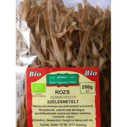 Rédei Bio rozs teljes kiőrlésű tönkölytészta szélesmetélt 350g
