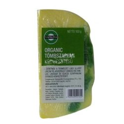A tömbszappan Organic természetesen lágy- igazi organic!