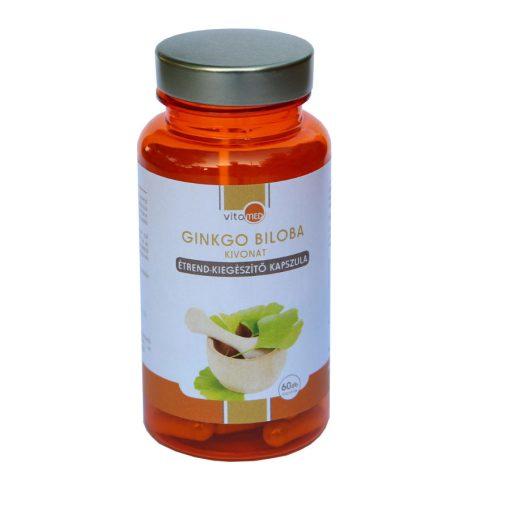 Vitamed prémium - Ginkgo Biloba étrend-kiegészítő kapszula