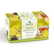 Zöld tea a gyömbér pikán ízével és a citrom frissességével