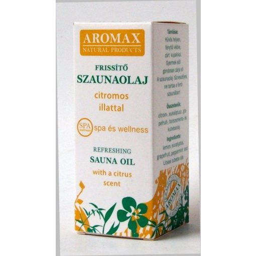 Aromax szaunaolaj frissitő 10ml