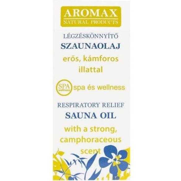 Aromax szaunaolaj légzéskönnyítő 10ml