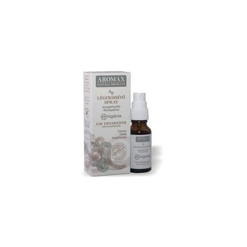 Aromax indiai citromfű-borsosmenta-szegfűszeg légfrissítő spray 20ml