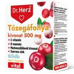 DR Herz Tőzegáfonya Forte + Aranyvessző 60db tabletta