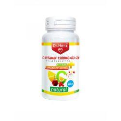 A természetes C vitamint tartalmazó étrendkiegészítő acerola kapszula